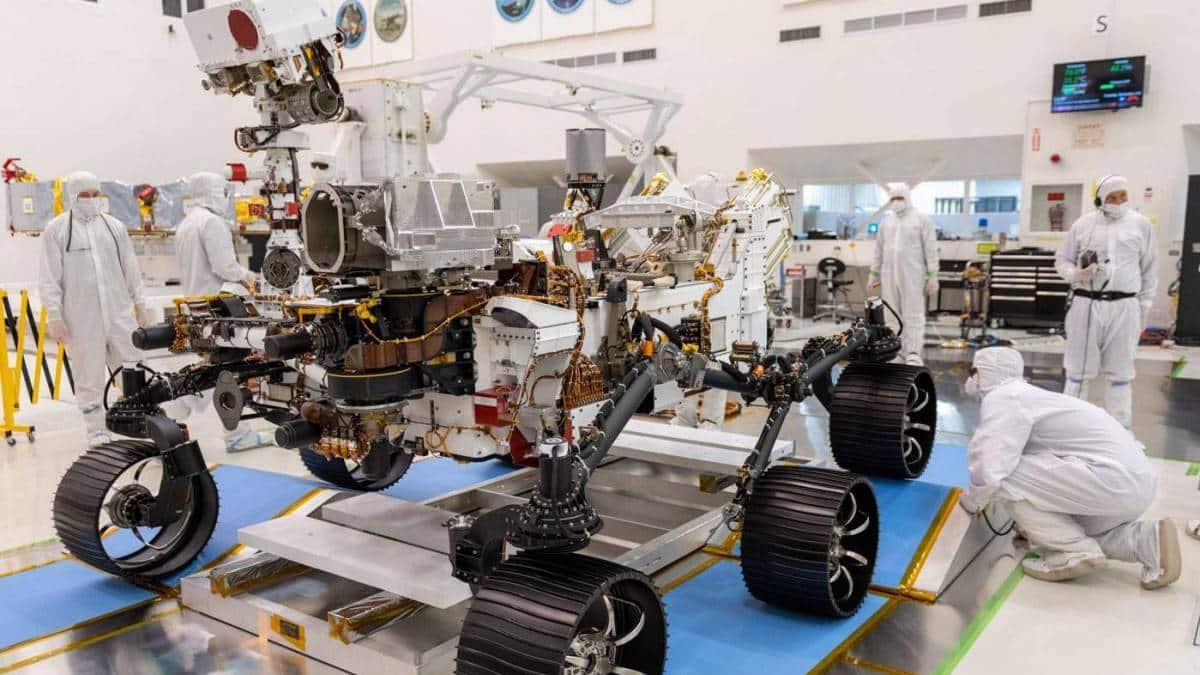 Rover da Nasa recebe mudanças e está pronto para viagem à Marte