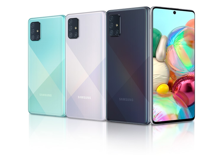 Galaxy A72 pode ser o primeiro celular da Samsung com cinco câmeras