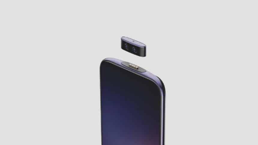 Smartphone da Vivo permite aos usuários retirarem a câmera