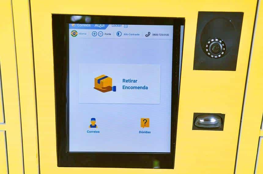 Correios: empresa lança seu primeiro smartlocker no Distrito Federal