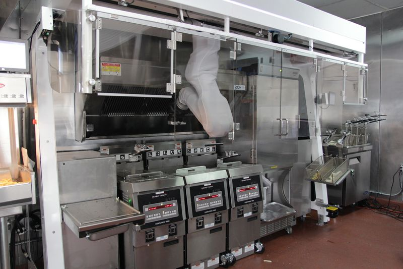 'Robô chef' já está disponível para venda por 30 mil dólares