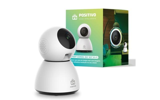 Positivo lança câmera de segurança Wi-Fi por voz